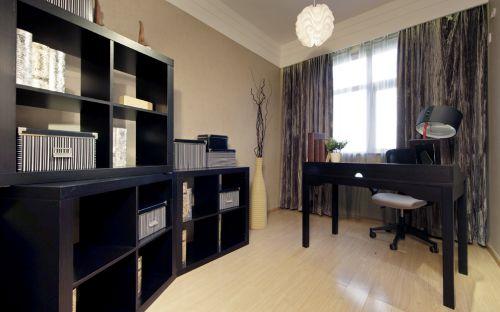 现代简约四居室书房装修效果图大全