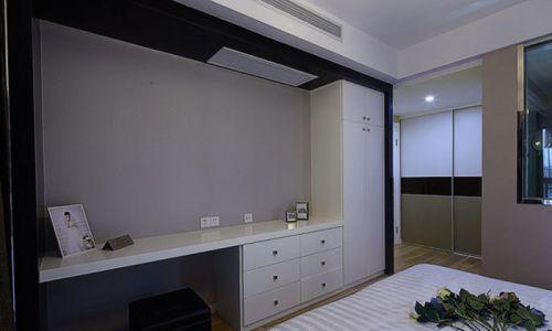 现代简约二居室书房组合柜装修效果图欣赏