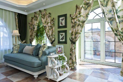 地中海风格客厅设计案例