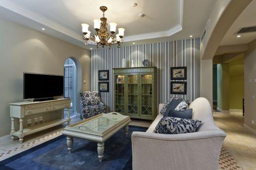 2016欧式浪漫雅致客厅设计装潢