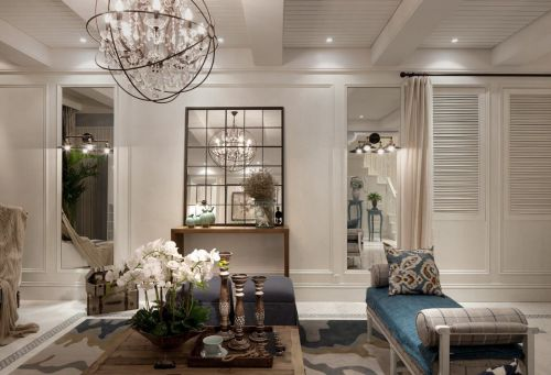 地中海米色客厅设计