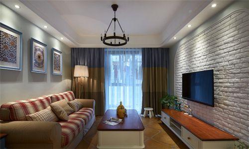 地中海风格客厅装修效果图设计