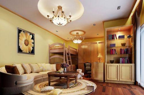 休闲地中海风格客厅装潢设计