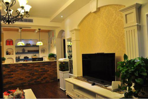 休闲地中海风格客厅装修美图赏析