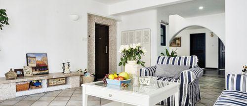 地中海清凉客厅装修