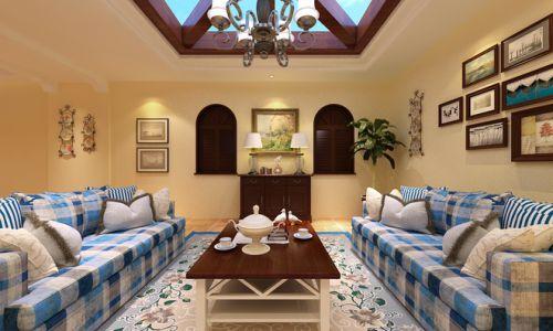 2016温馨地中海风格客厅装修设计