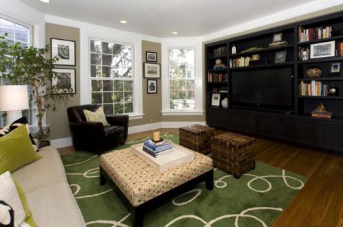 美式春季风格客厅装修设计