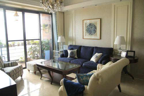 休闲地中海风格客厅设计欣赏