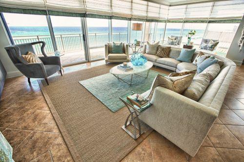 地中海风格大气白色客厅设计赏析
