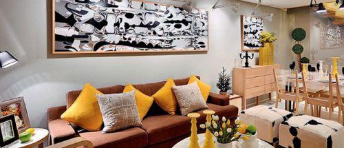 整洁地中海客厅装修图片