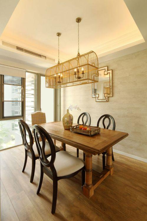 新古典雅致风格米色客厅装修效果图