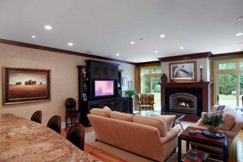 休闲美式客厅装修效果图
