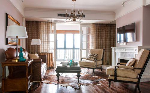 经典复古美式雅致客厅设计