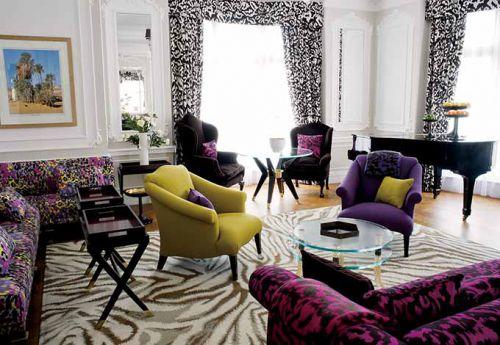 高档气质新美式客厅装潢设计