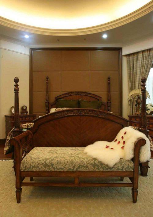 温馨美式优雅客厅装修设计