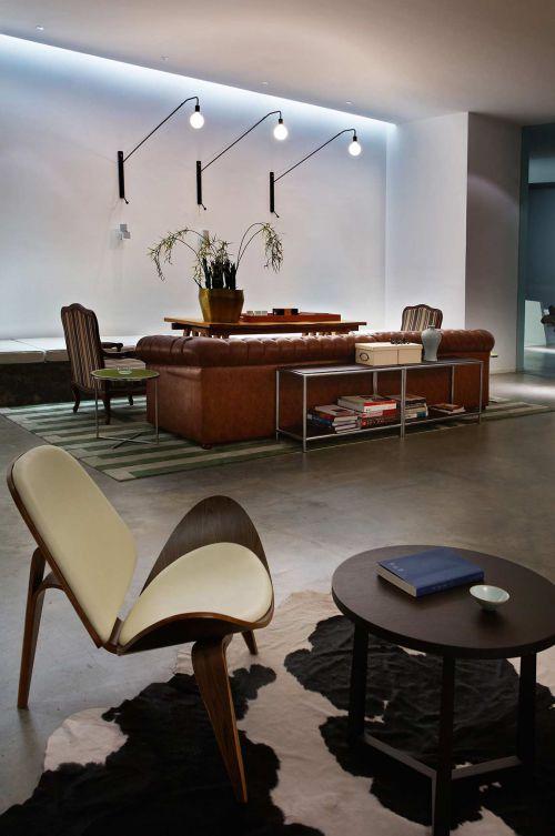 创意简约美式客厅设计