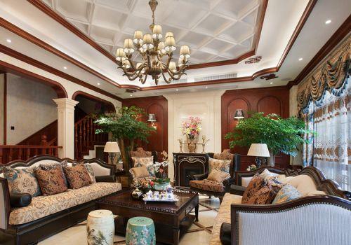 经典美式客厅设计美图