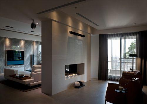 美式风格雅致简洁客厅装饰案例
