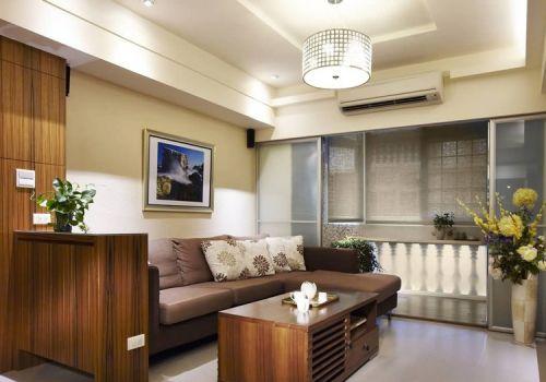 美式现代化客厅效果图