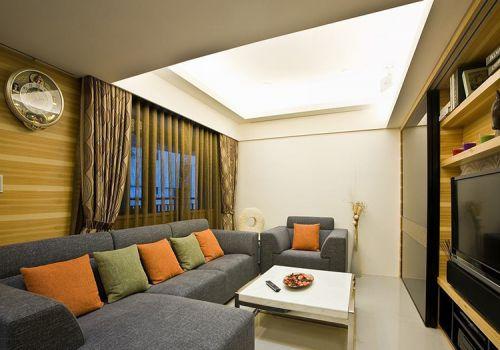 暖暖美式客厅设计欣赏