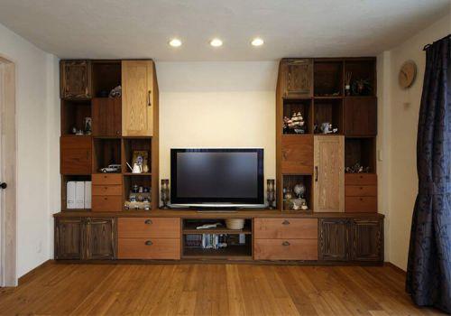 实木美式客厅设计