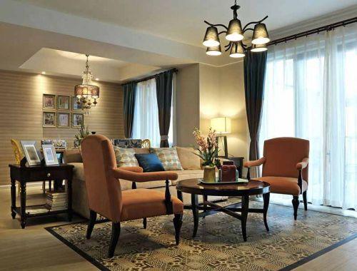 美式休闲装修客厅设计图