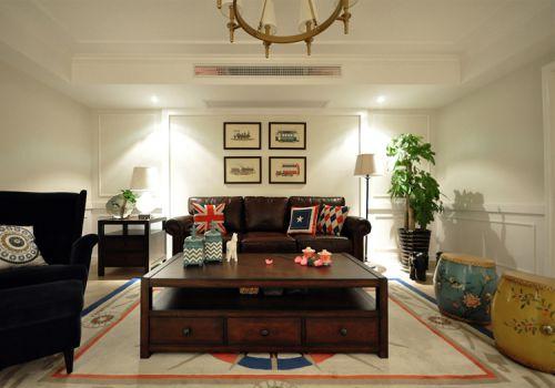 简约美式风格客厅装修图片