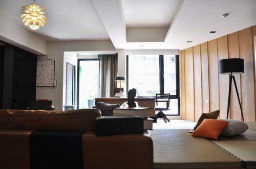 简洁时尚美式风格客厅装修案例