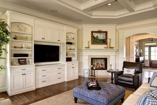 2016美式风格客厅图片