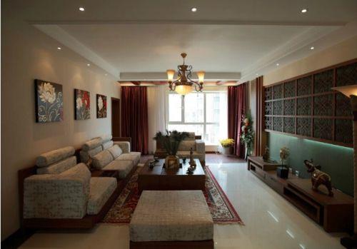 美式时尚风格客厅设计图