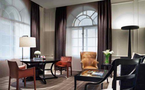2016时尚古典美式客厅休闲设计