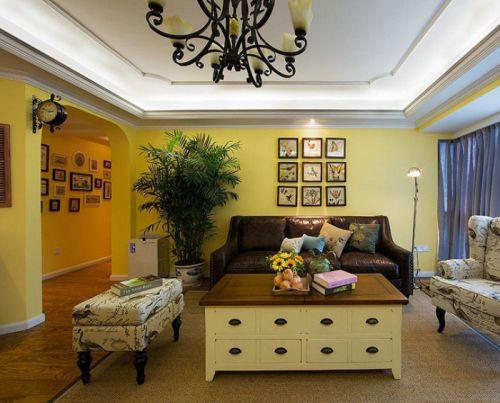 美式风格雅致温馨客厅设计赏析