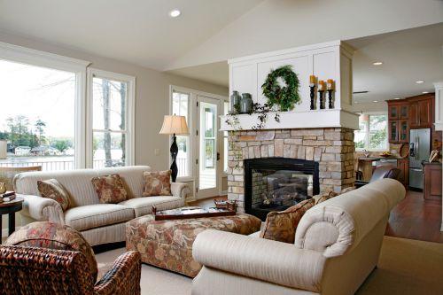 美式休闲客厅装修案例
