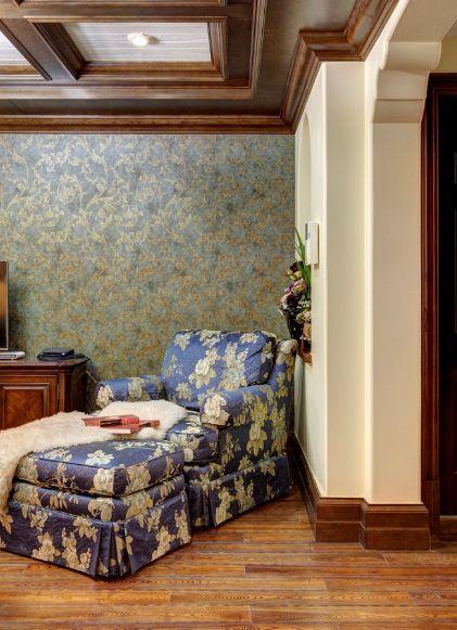 美式风格客厅局部装饰案例