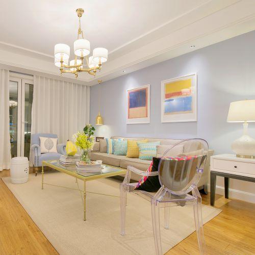 美式混搭客厅装饰设计