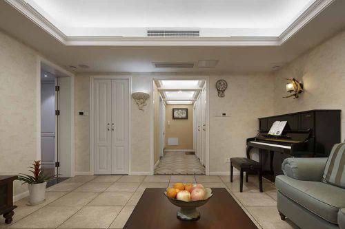 美式休闲装修客厅设计案例
