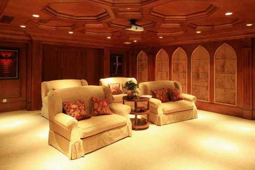 大气美式客厅设计效果图