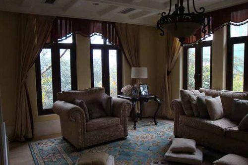美式风格客厅装潢设计