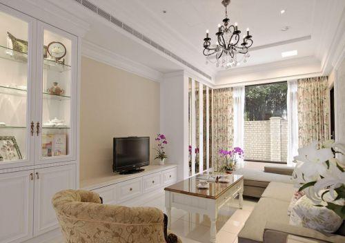 美式小户型客厅装修效果图片
