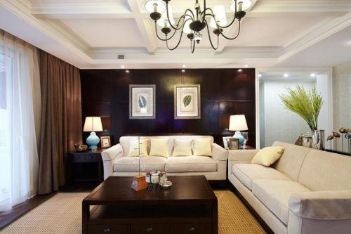 美式风格客厅装饰案例