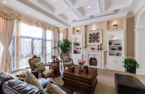 美式风格客厅装饰设计图