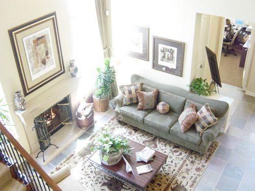 白色温馨美式风格客厅装修效果图