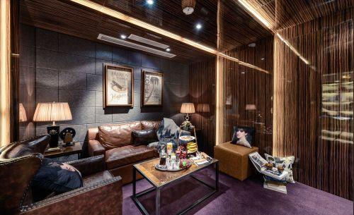 美式大气沉稳风格客厅装修美图