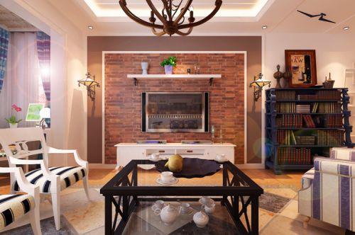 美式客厅装修效果图片