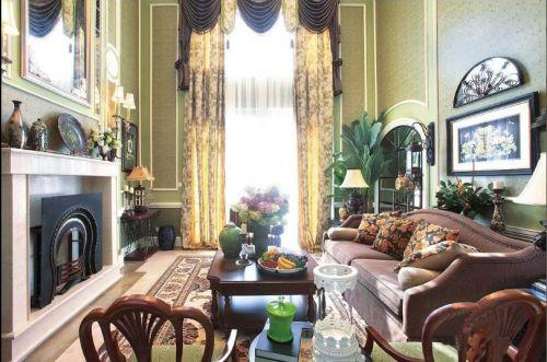 美式诗意客厅装潢案例