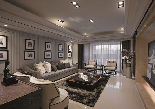 美式宽阔客厅美图欣赏