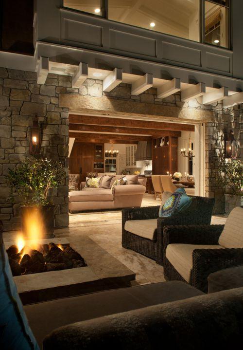 2016美式风格客厅装修图