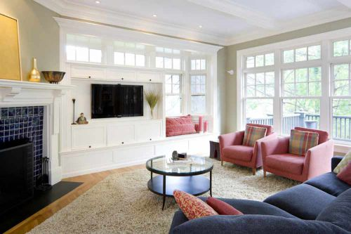 美式休闲舒适客厅装修案例