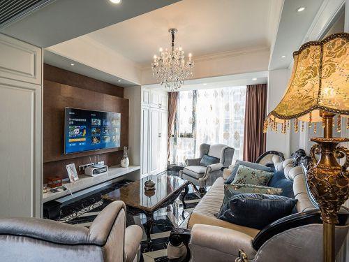 美式精致客厅设计效果图赏析