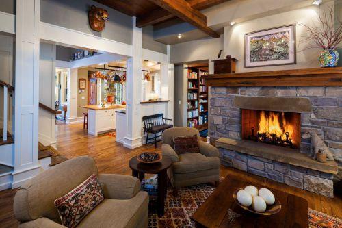 美式休闲客厅设计装潢